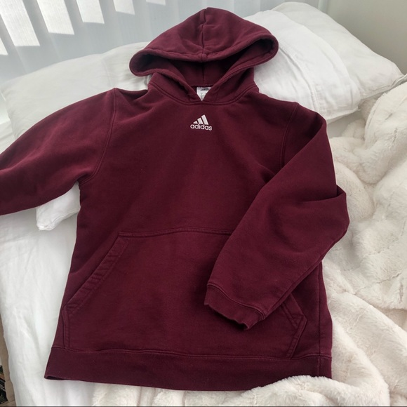 adidas hoodie embroidered
